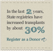 Register as a donor